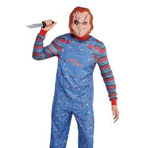 Chunky Men's Costume, Mask, & Knife NWT